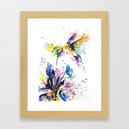 Hummingbird 2 Framed Art Print