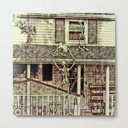 Don't Open The Window! Metal Print