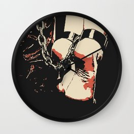 Dark Dungeon, BDSM chains Wall Clock