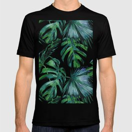 Tropical Palm Leaves Classic T-shirt