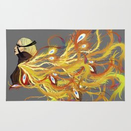 Lady phoenix Rug