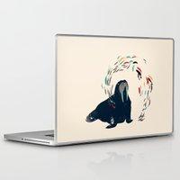 walrus Laptop & iPad Skins featuring Walrus. by Urška Hočevar