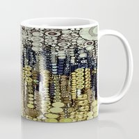 fitzgerald Mugs featuring :: Gray Gatsby :: by :: GaleStorm Artworks ::