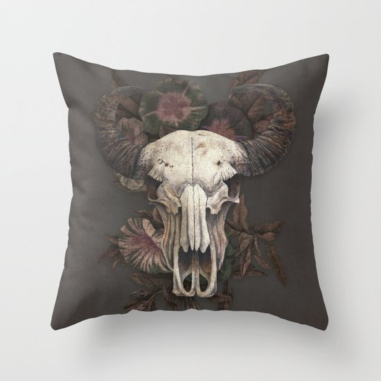 Nightshade Throw Pillow