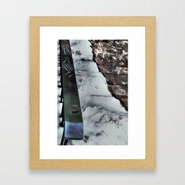 Graffiti Slide Framed Art Print