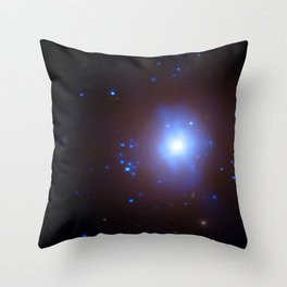 1867. Massive Black Hole Implicated in Stellar Destruction - An elliptical galaxy in the Fornax cluster that contains an ultraluminous X-ray source Throw Pillow