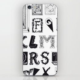 The Alphabetical Stuff - Complete iPhone Skin