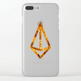 Jasper Candy Gem Clear iPhone Case