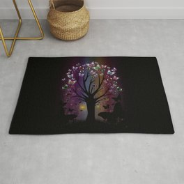 Butterfly Tree Rug