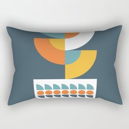 Geometric Plant 02 Rectangular Pillow