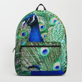 Peacock (Color) Backpack