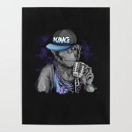 Hip Hop Monkey King Poster