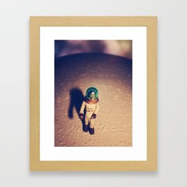 Lostronaut Landing Framed Art Print