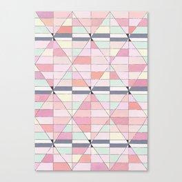 Sorbet Pinks Canvas Print