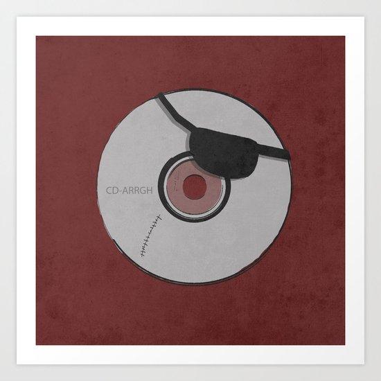 CD-ARR Art Print
