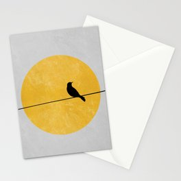 Bird and Sun Stationery Cards