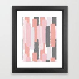 Rising #society6 #abstractart Framed Art Print