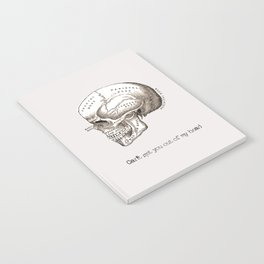 Can't get you out of my head vintage illustration Notebook