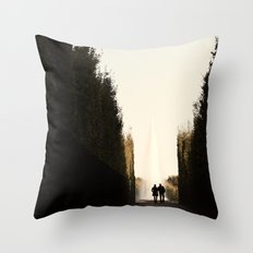 Versailles romance Throw Pillow