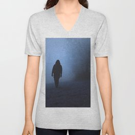 Walk into this void Unisex V-Neck