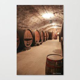 Wine & Truth and All That Canvas Print