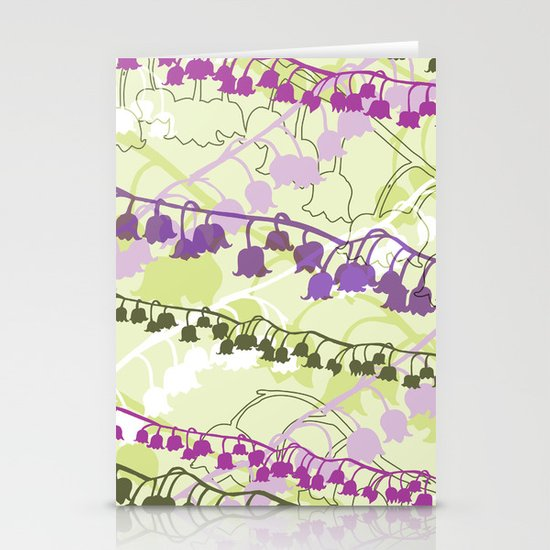 Layered Lily Stationery Cards