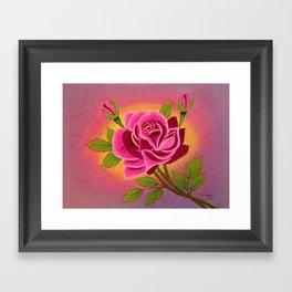 Rose for you Framed Art Print