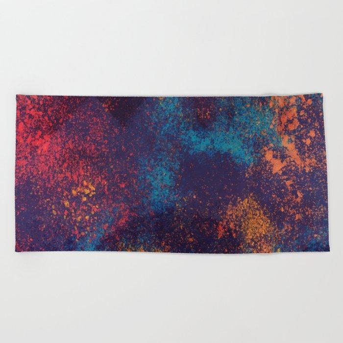 Paint Beach Towel