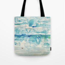 Miami Beach Watercolor #6 Tote Bag