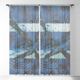 Agent BlueSky Sheer Curtain