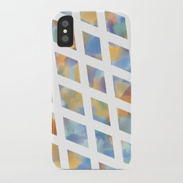 Watercolor Diamonds iPhone Case
