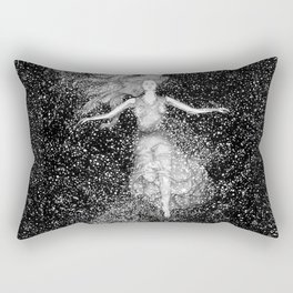 Midnight Swim Rectangular Pillow