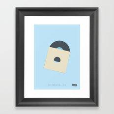 Blue Moon Rising - 20:12 Framed Art Print
