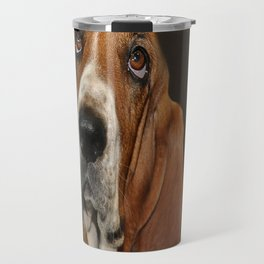 Lost In Thought Basset Hound Dog Travel Mug