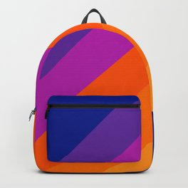Simple Stripes - Sapphire Backpack