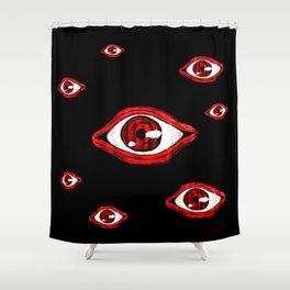 Alucard eye Shower Curtain