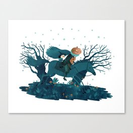 tricking and treating Canvas Print