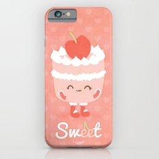 Sweet Cherry Cake Slim Case iPhone 6s