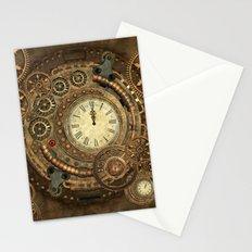 Steampunk, clockwork Stationery Cards