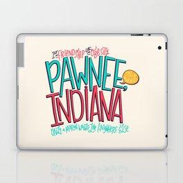 Pawnee, Indiana Laptop & iPad Skin