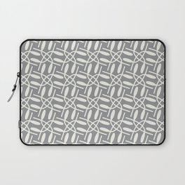 Banded Together - Geometric Ultimate Gray Laptop Sleeve