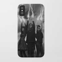 coven iPhone & iPod Cases featuring coven by tadzioautumn