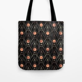Art Deco Leaves / Version 3 Tote Bag