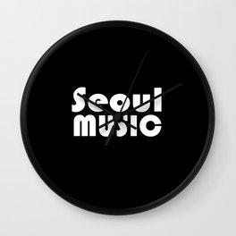 Seoul Music Wall Clock