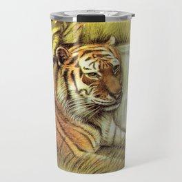 Tiger in free Wilderness Travel Mug
