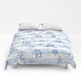 Sandcastle Stripes_Pattern Comforters