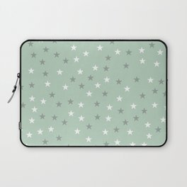 mint green stars Laptop Sleeve