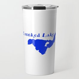Crooked Lake 001 Travel Mug