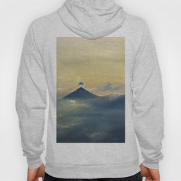 Aerial view sunset and clouds Hoody