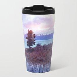 Sunset and lone tree Travel Mug